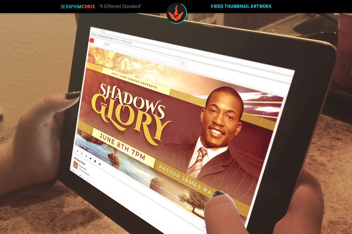Shadows of His Glory Video Thumbnail Artwork example image 4