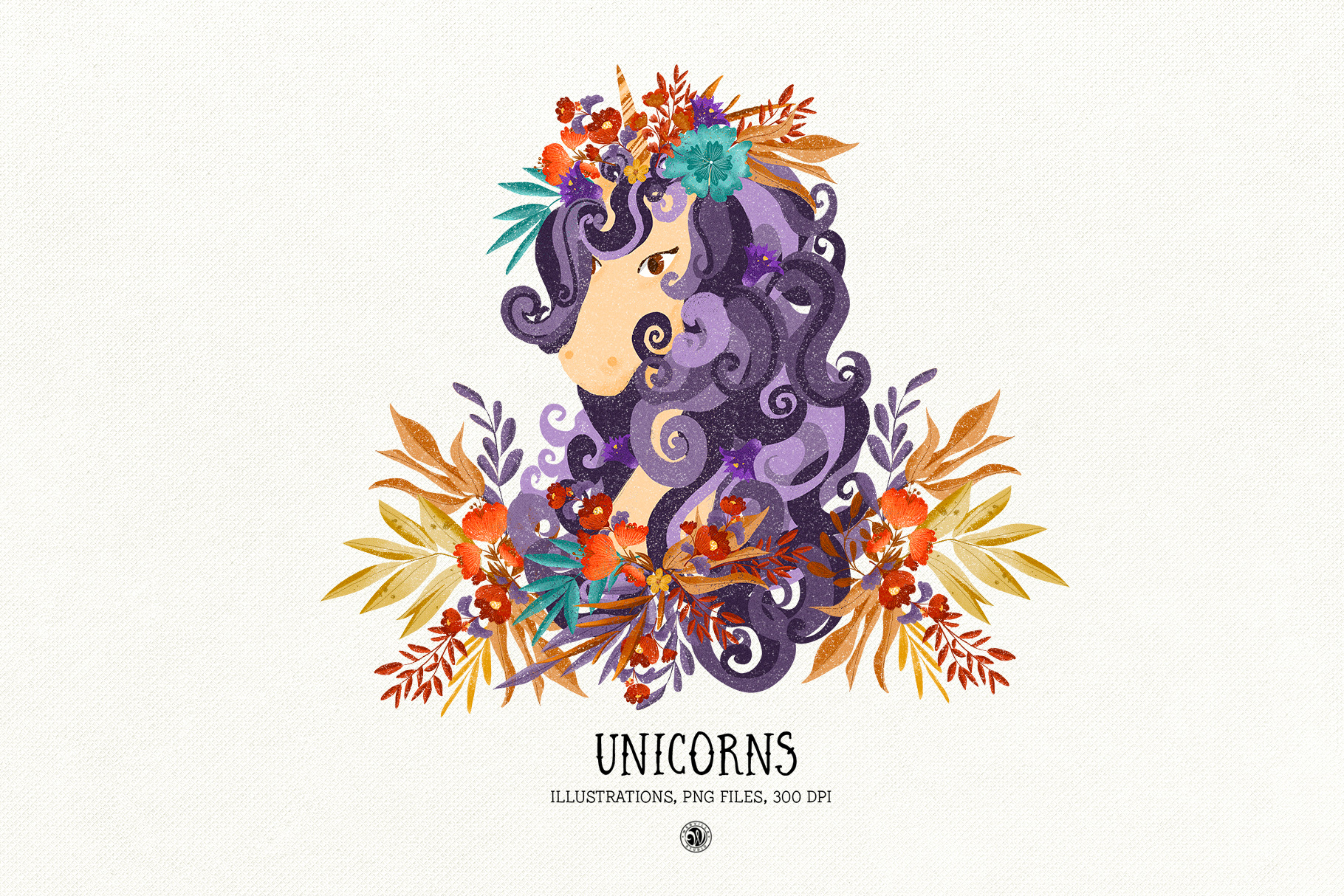 Unicorns Illustrations example image 2