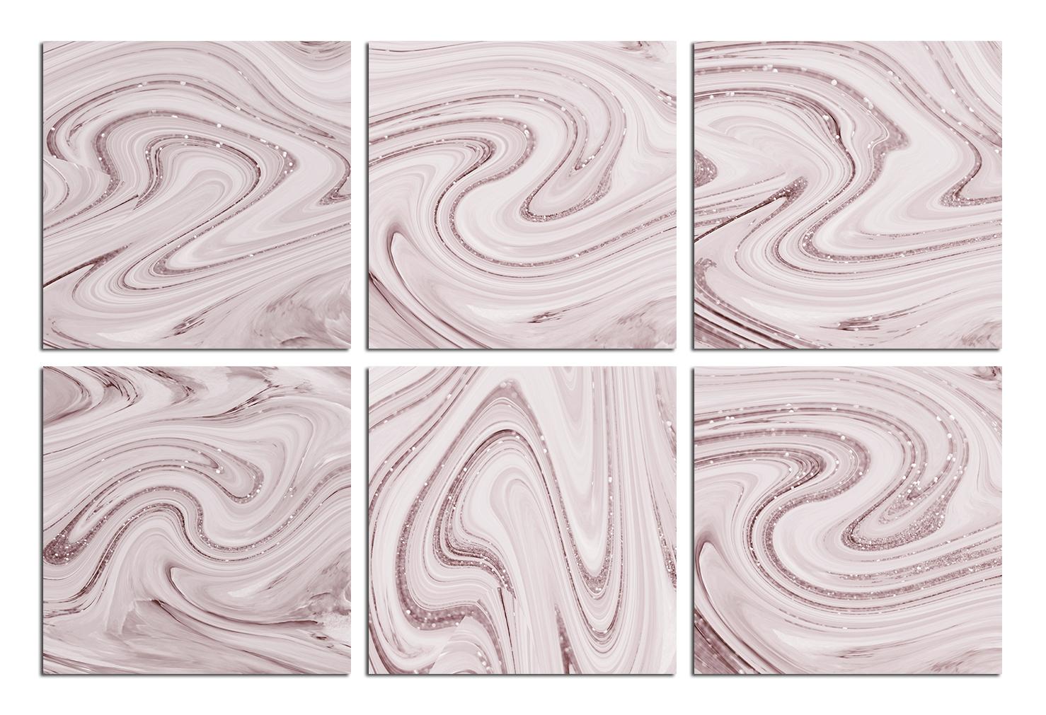 Rose Marble Digital Paper BUNDLE example image 10