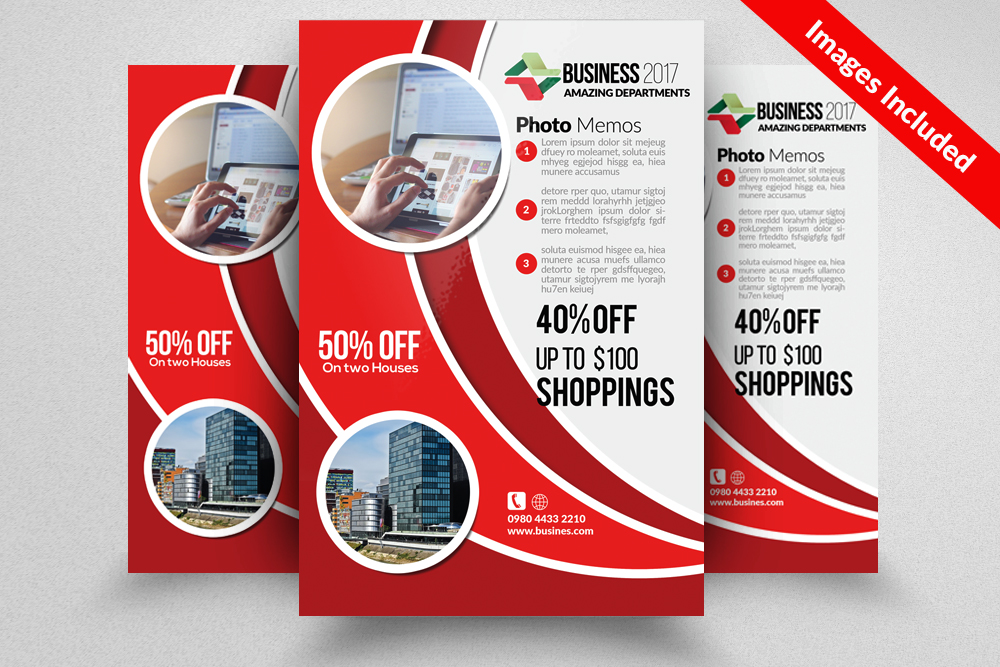 Builder's Trade Show Flyer example image 1