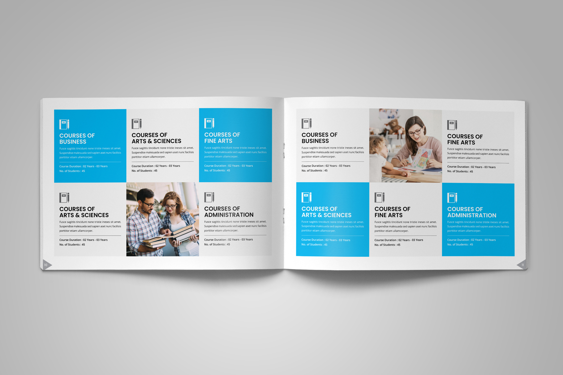 Education Prospectus Brochure v12 example image 8
