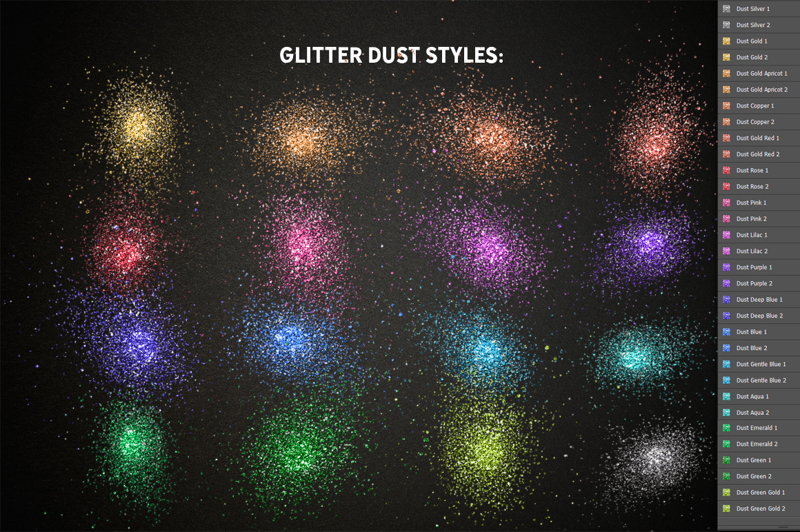 Realistic Glitter Effect TOOLKIT example image 4