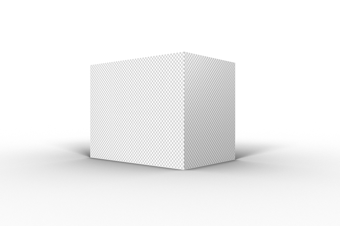 9.7.6 Simple 3D Box Mockup PSD example image 2