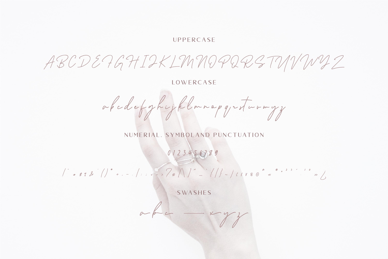 Ralline - Modern Script Font example image 9