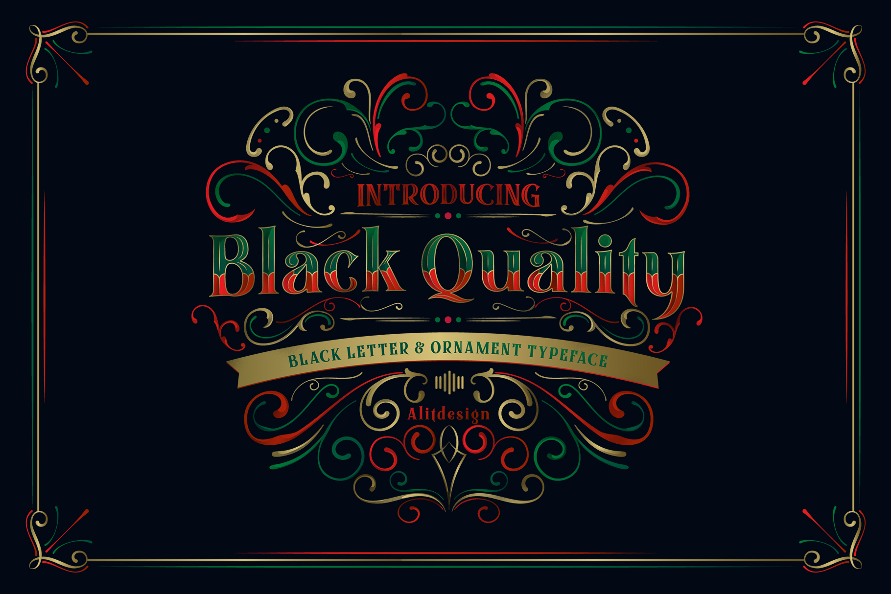 Black Quality Font example image 10