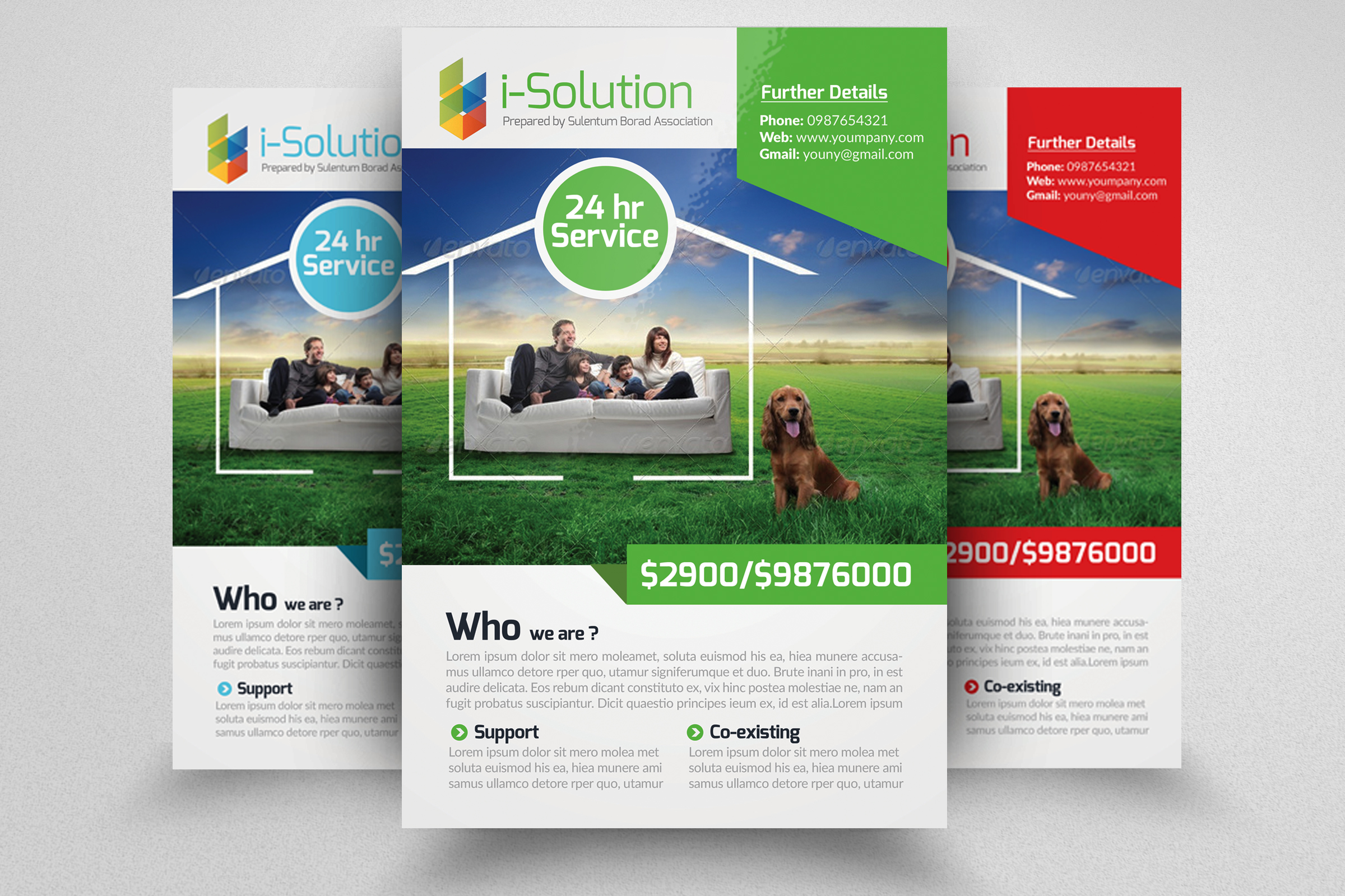 7 Corporate Business Flyers Bundle example image 4