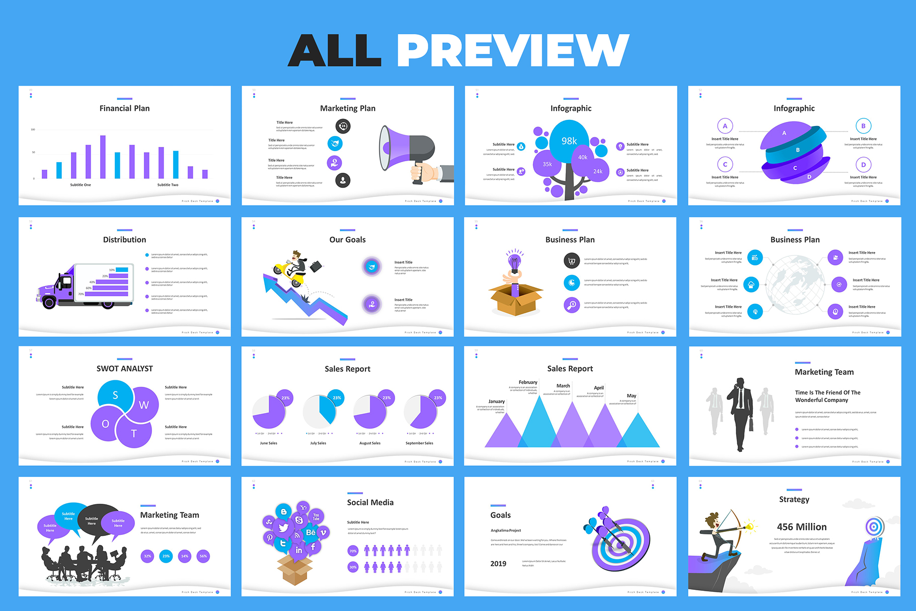 Pitch Deck Google Slides Template example image 8