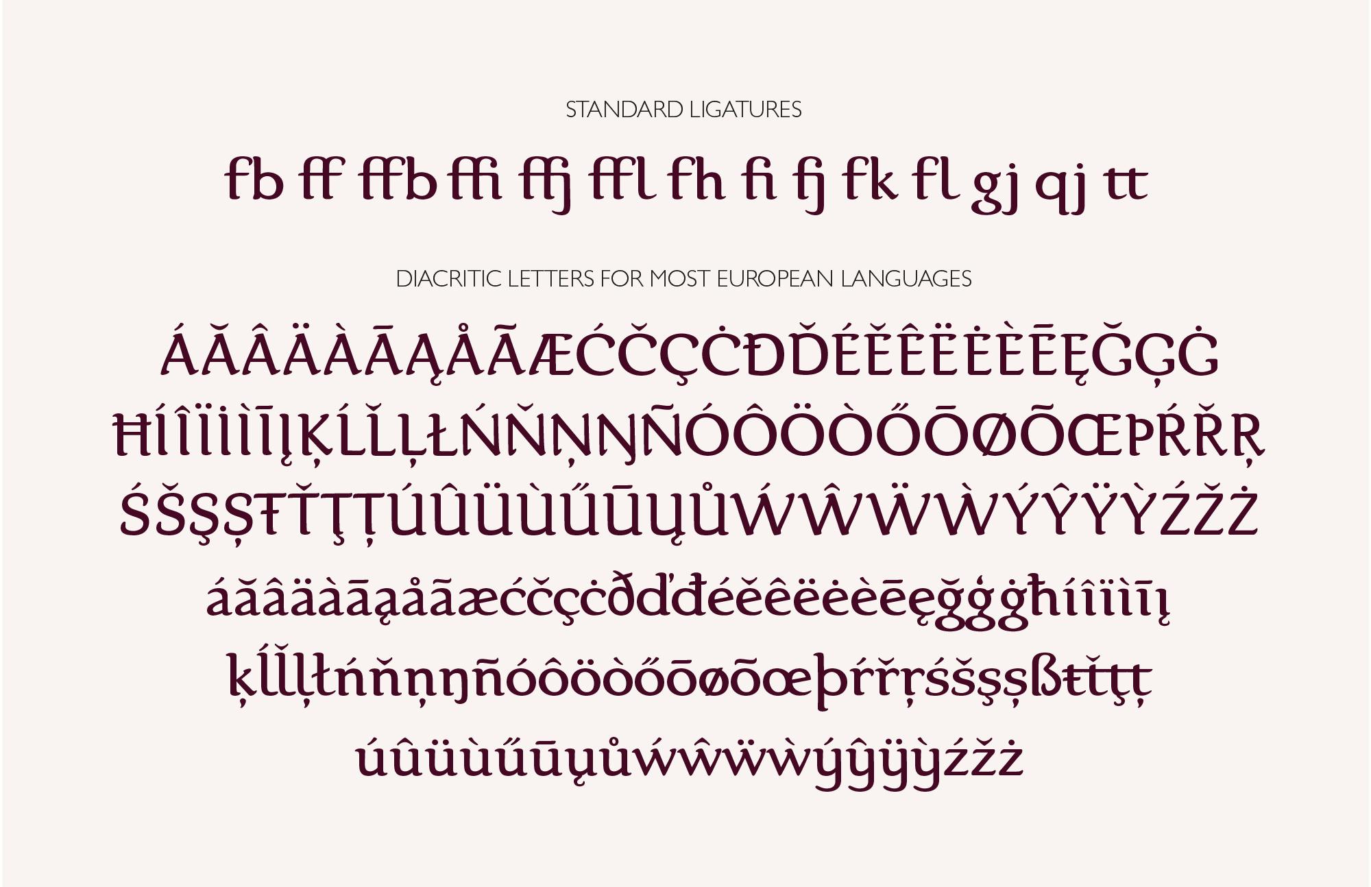 Karolina Serif Font example image 7
