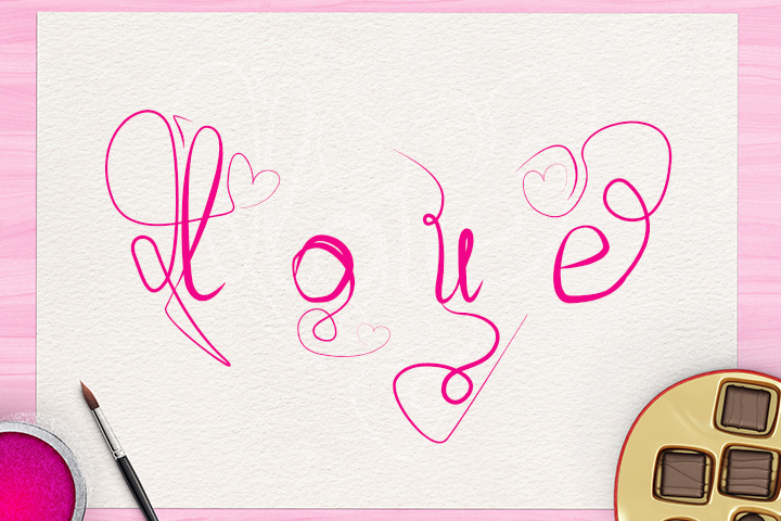 Love Font example image 5