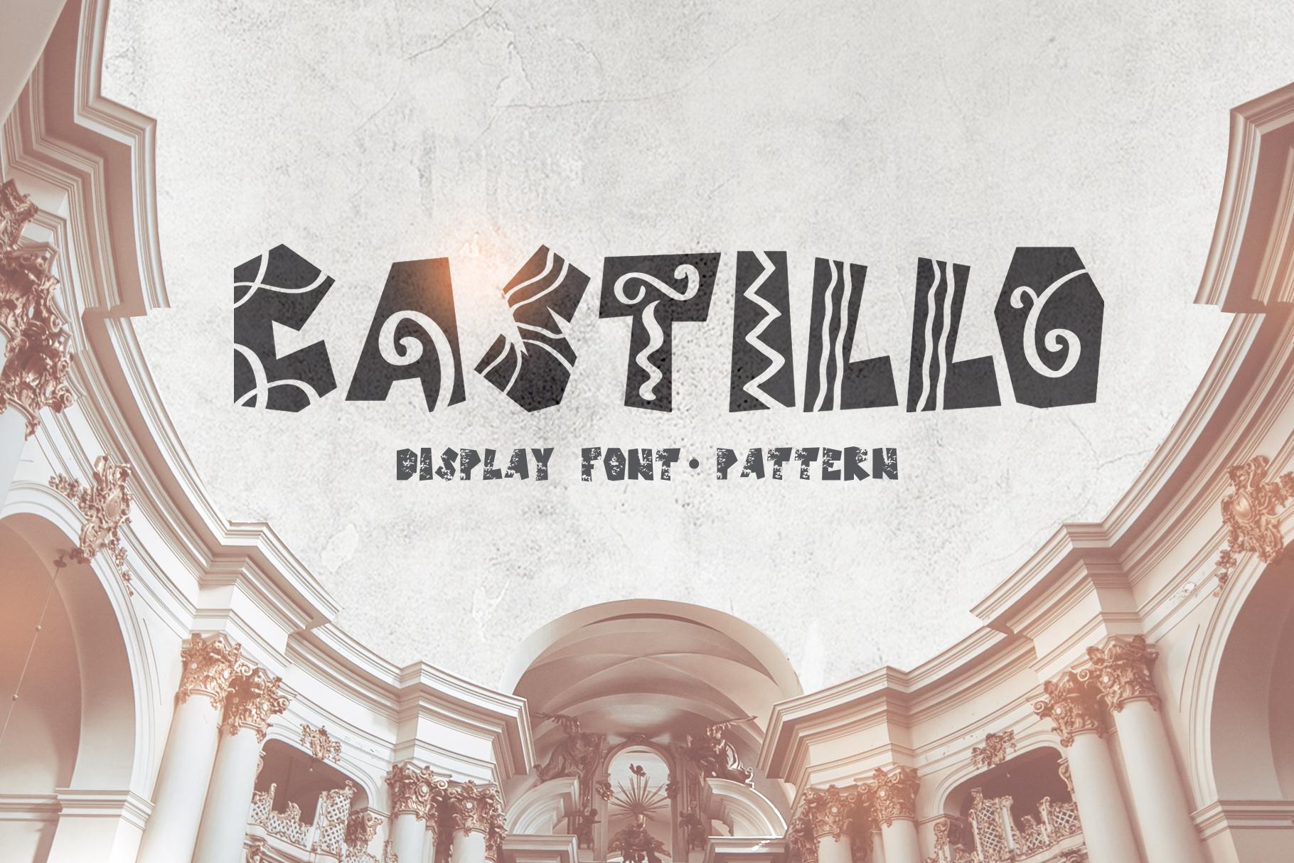 Castillo Scandinavian Font & Pattern example image 1