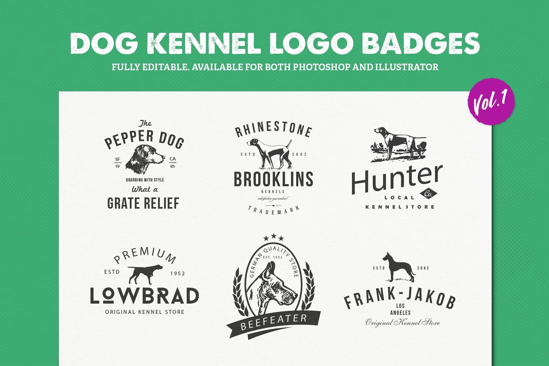 Dog Logos for Sale Vol.1   Dog Logo Clothing Brand example image 1