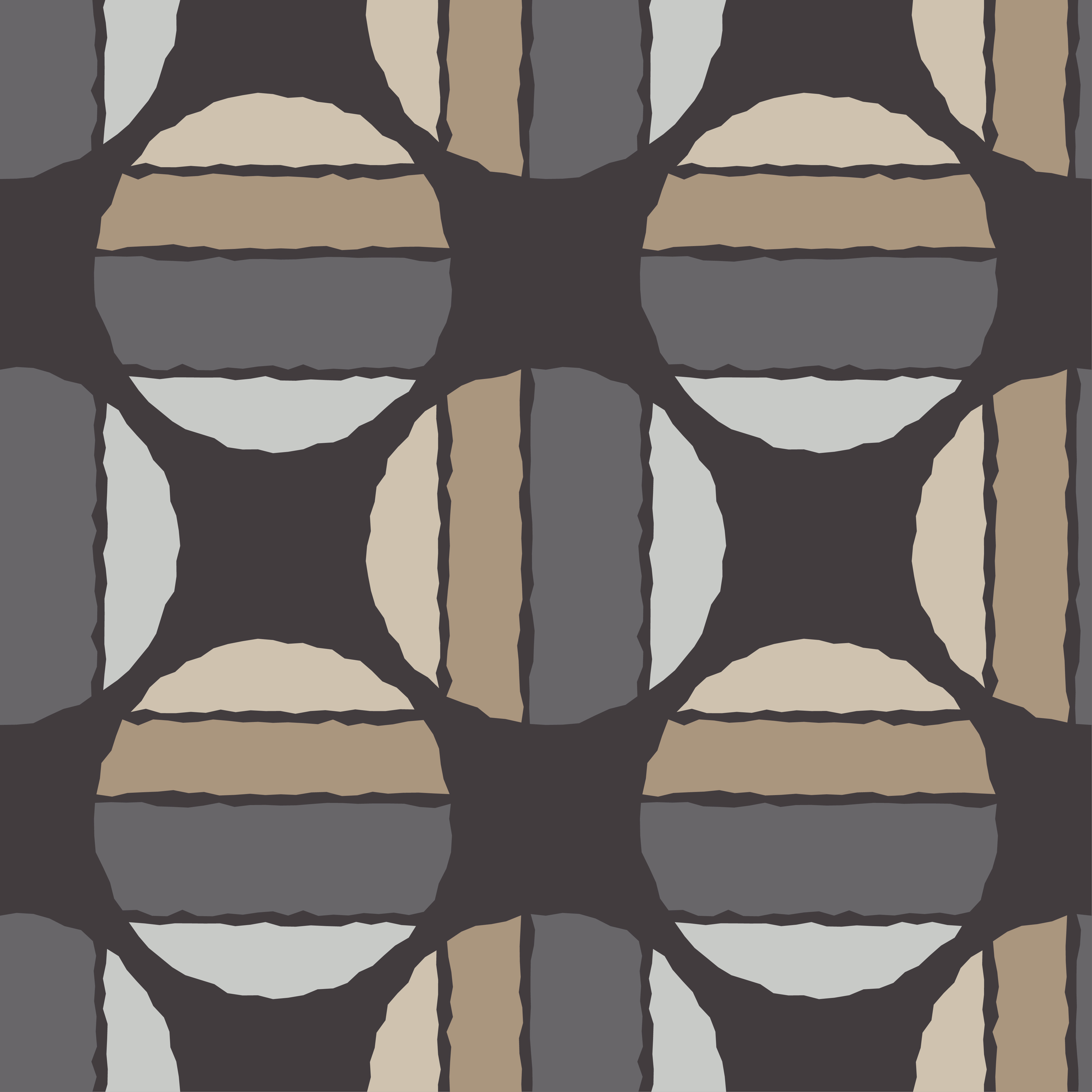 Polka dot seamless pattern. Sketch texture.  example image 2