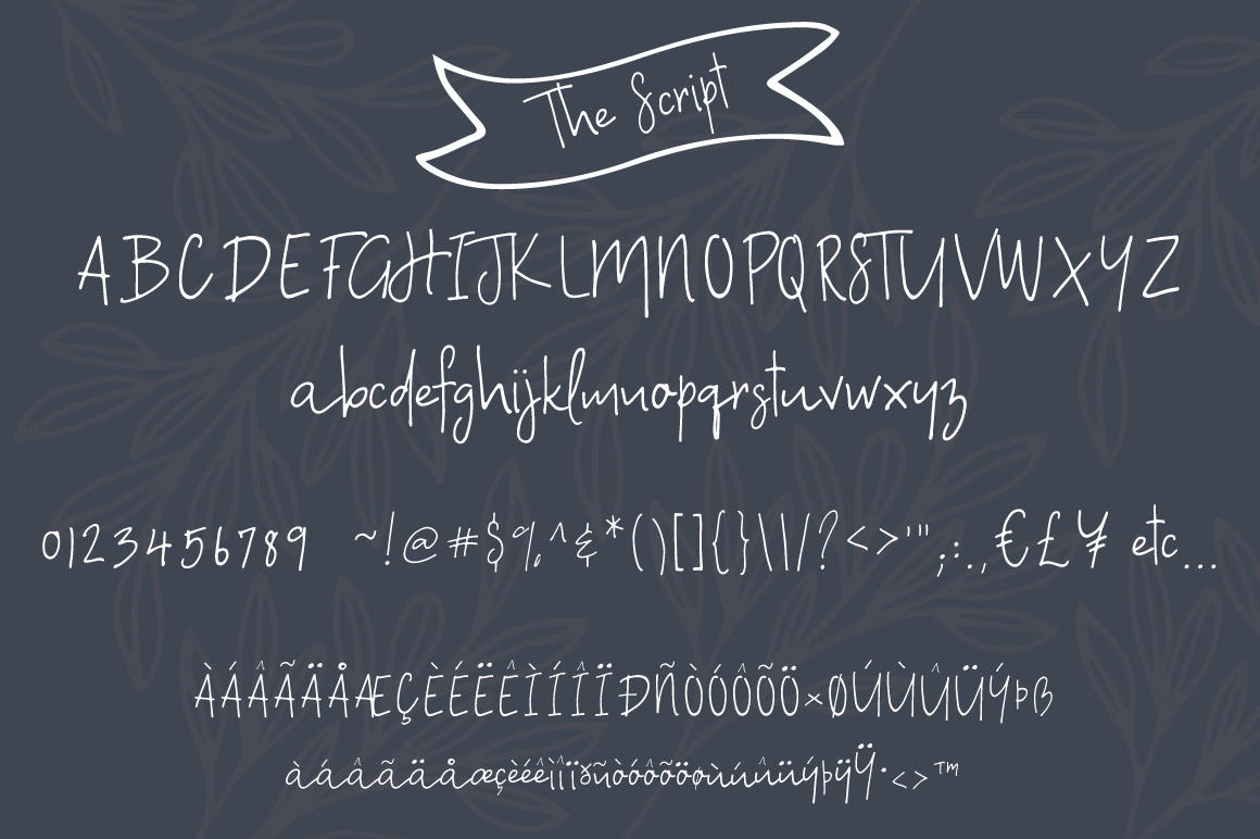 A Bientot | Font Duo with Bonus Logo example image 8