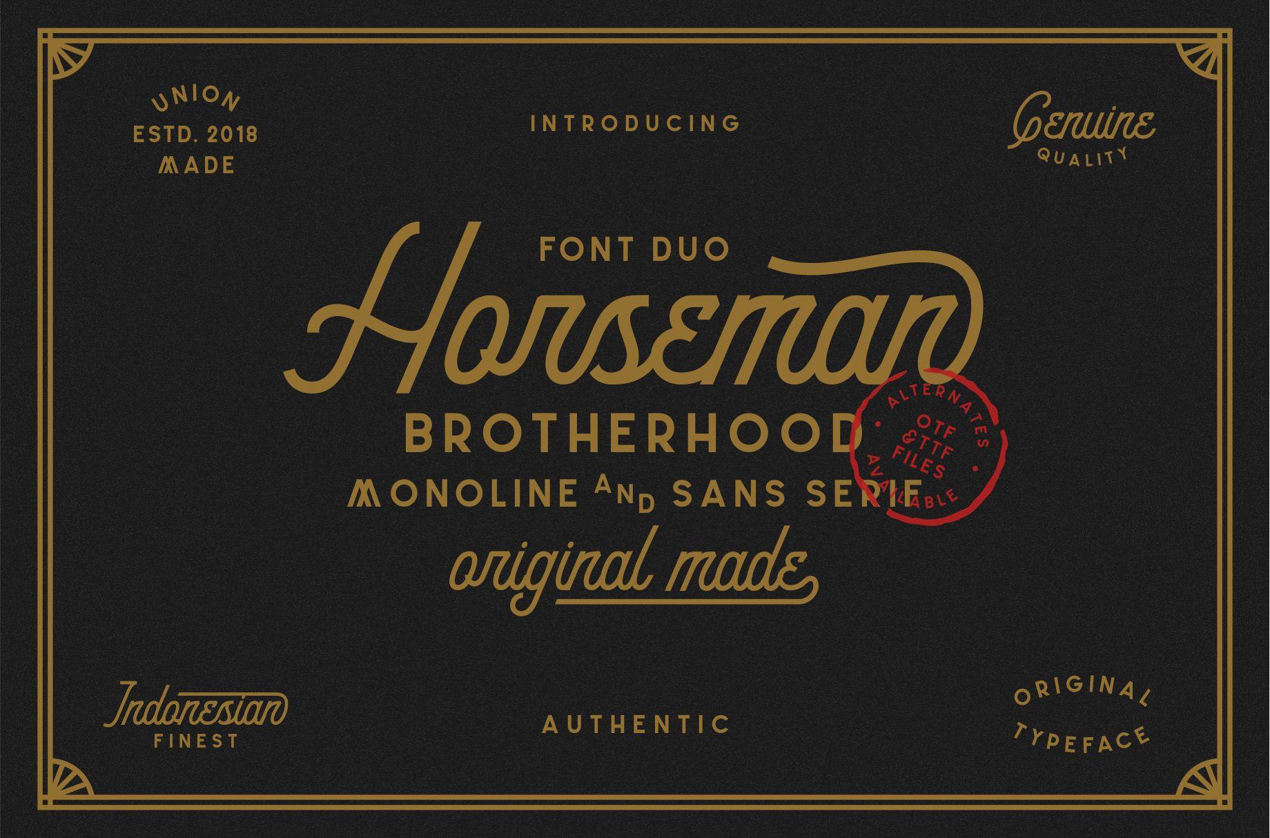 Horseman example image 1