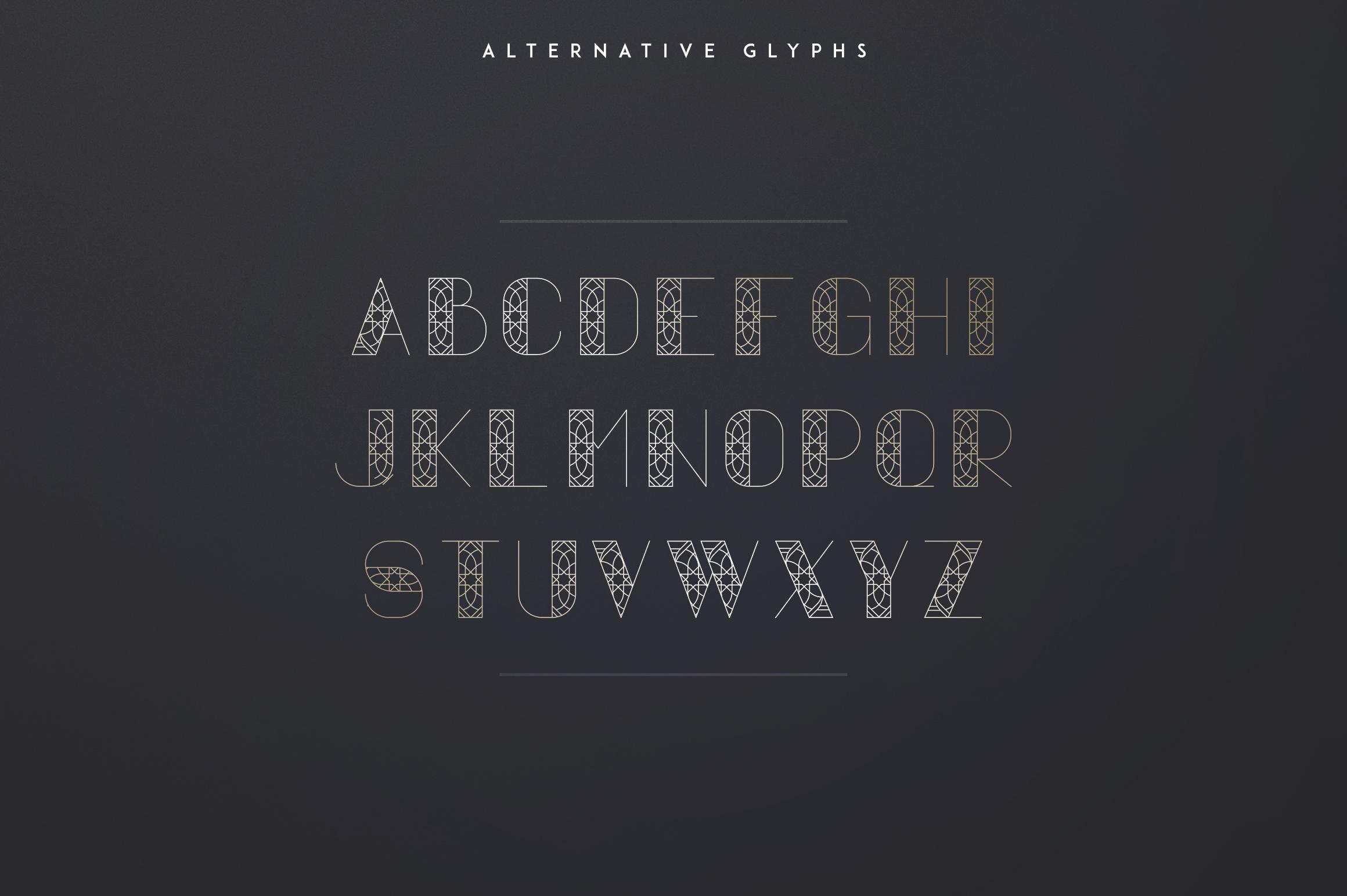 Vovchik Serif Font example image 9