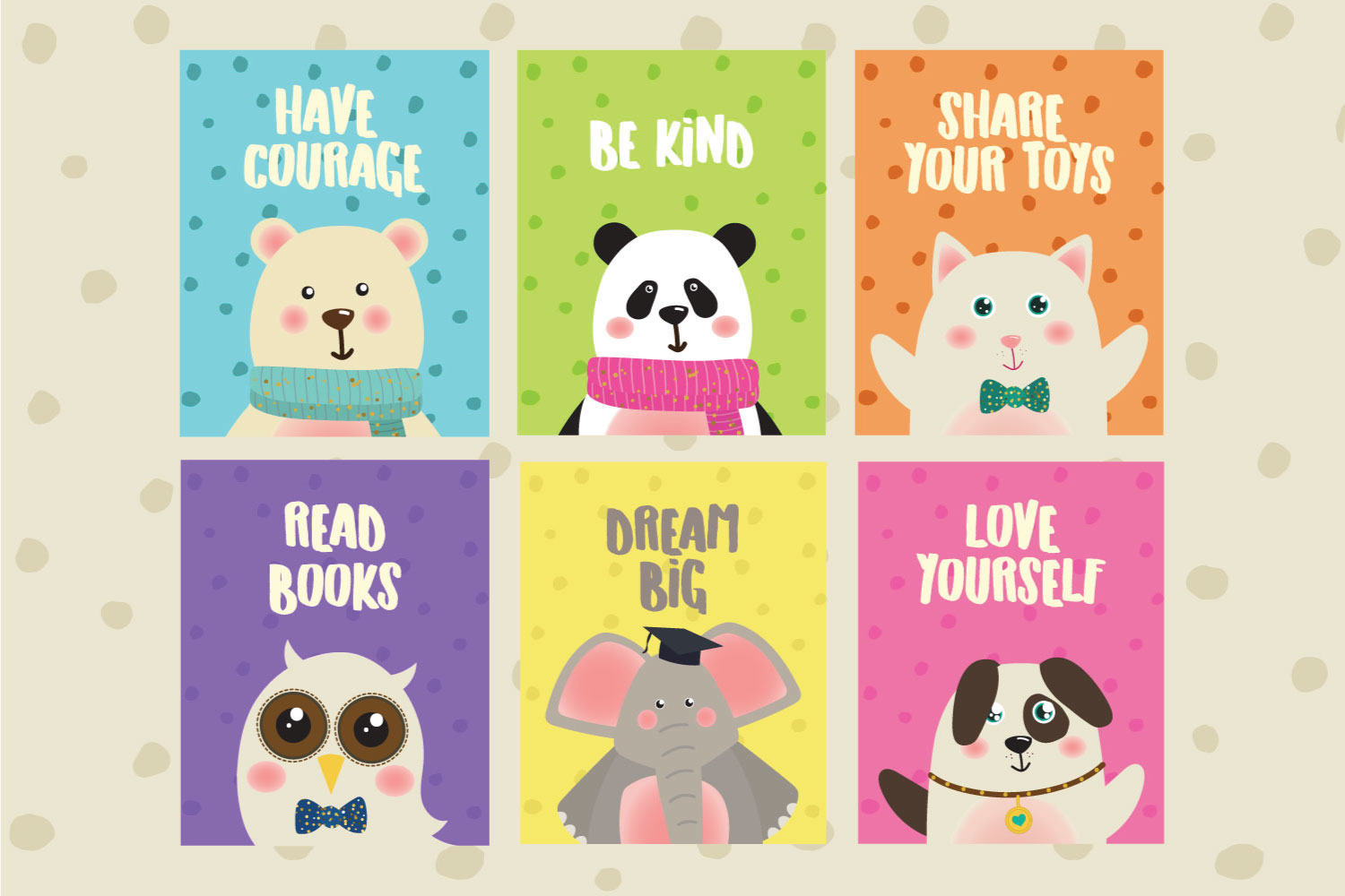 Cute Animal Posters example image 2