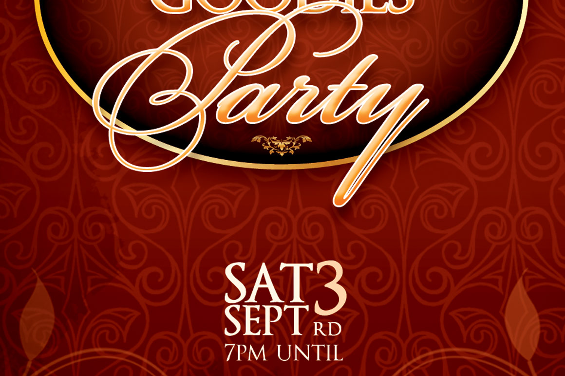 Vintage Party Ticket Template example image 6