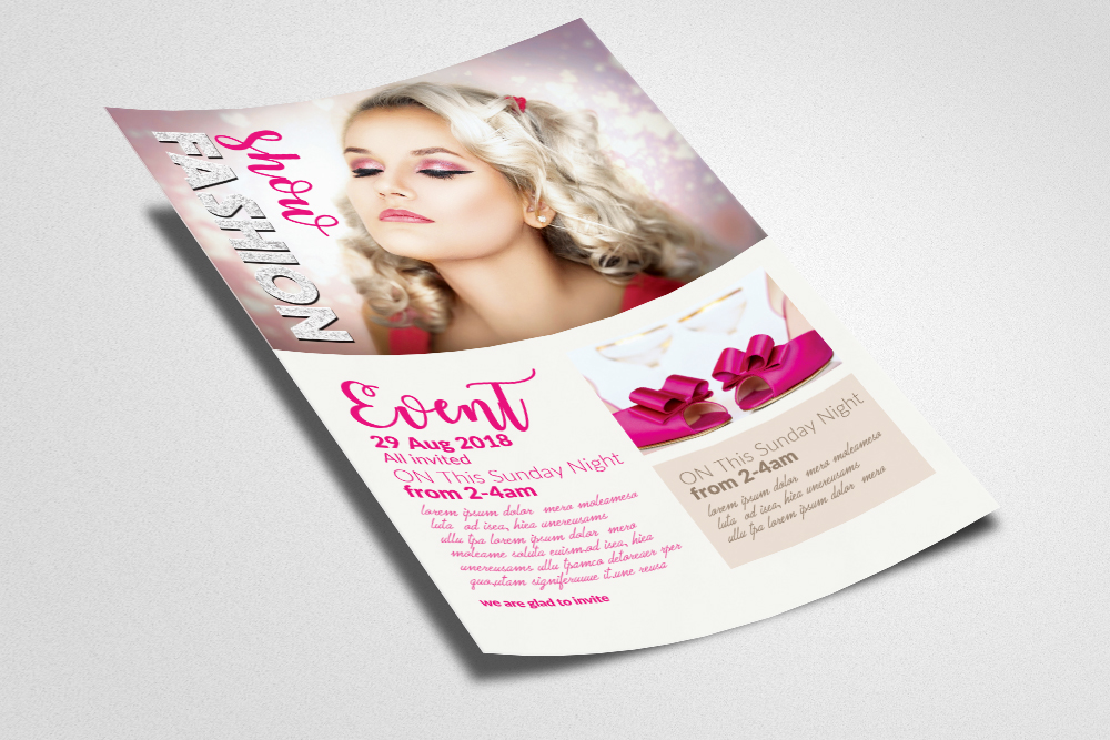 Fashion Ad Flyer example image 2