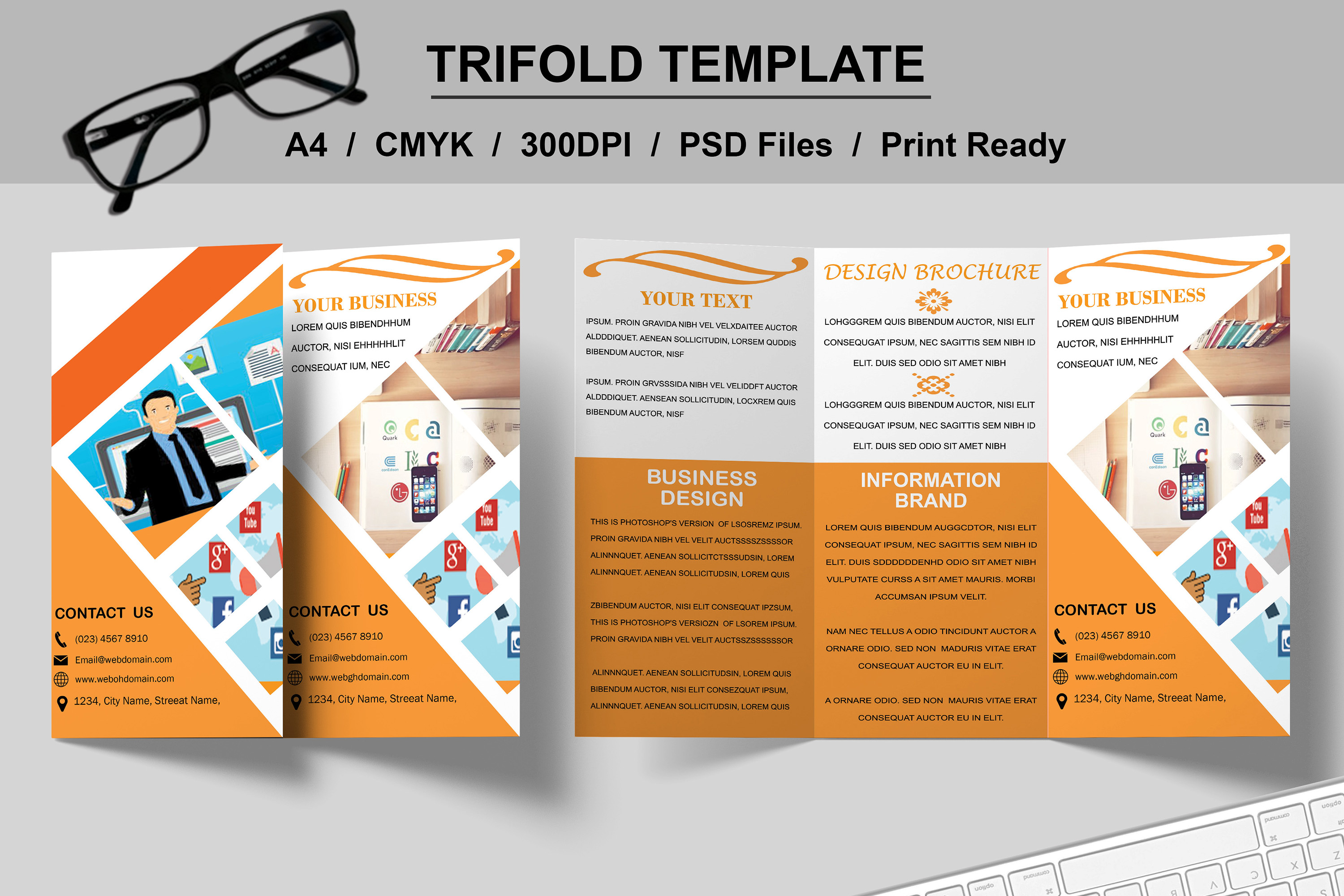 Trifold Brochure Template example image 4