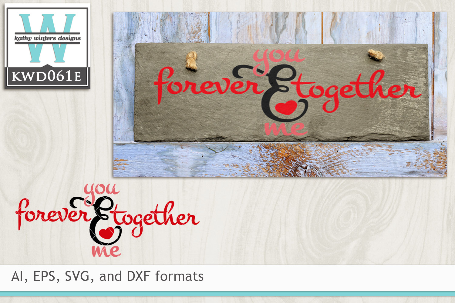 Valentines Svg Forever Together 11775 Cut Files Design Bundles