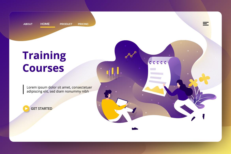 Education Online Vol 2 sets Illustration example image 7