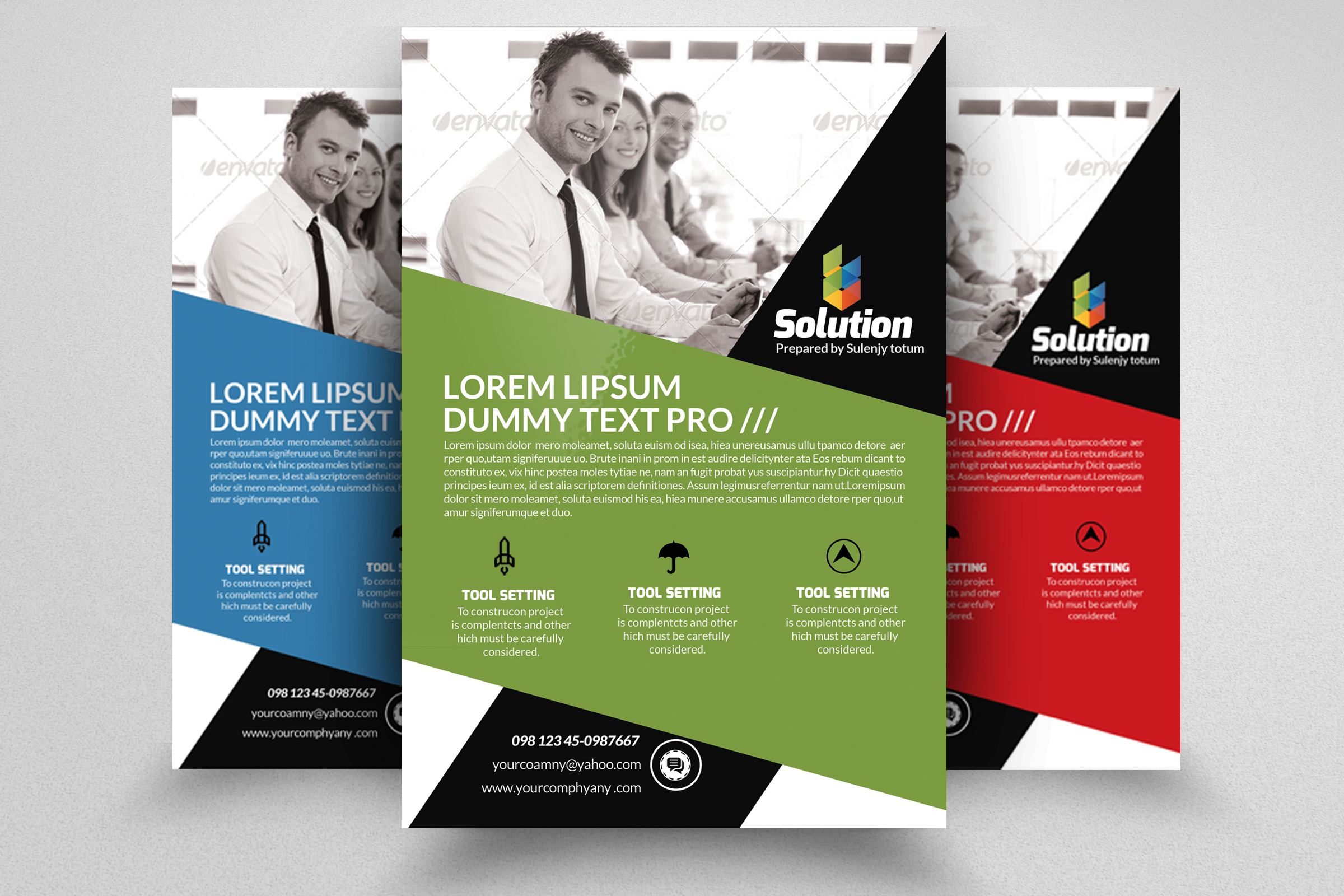 Business Finance Provider Firm Flyer example image 1