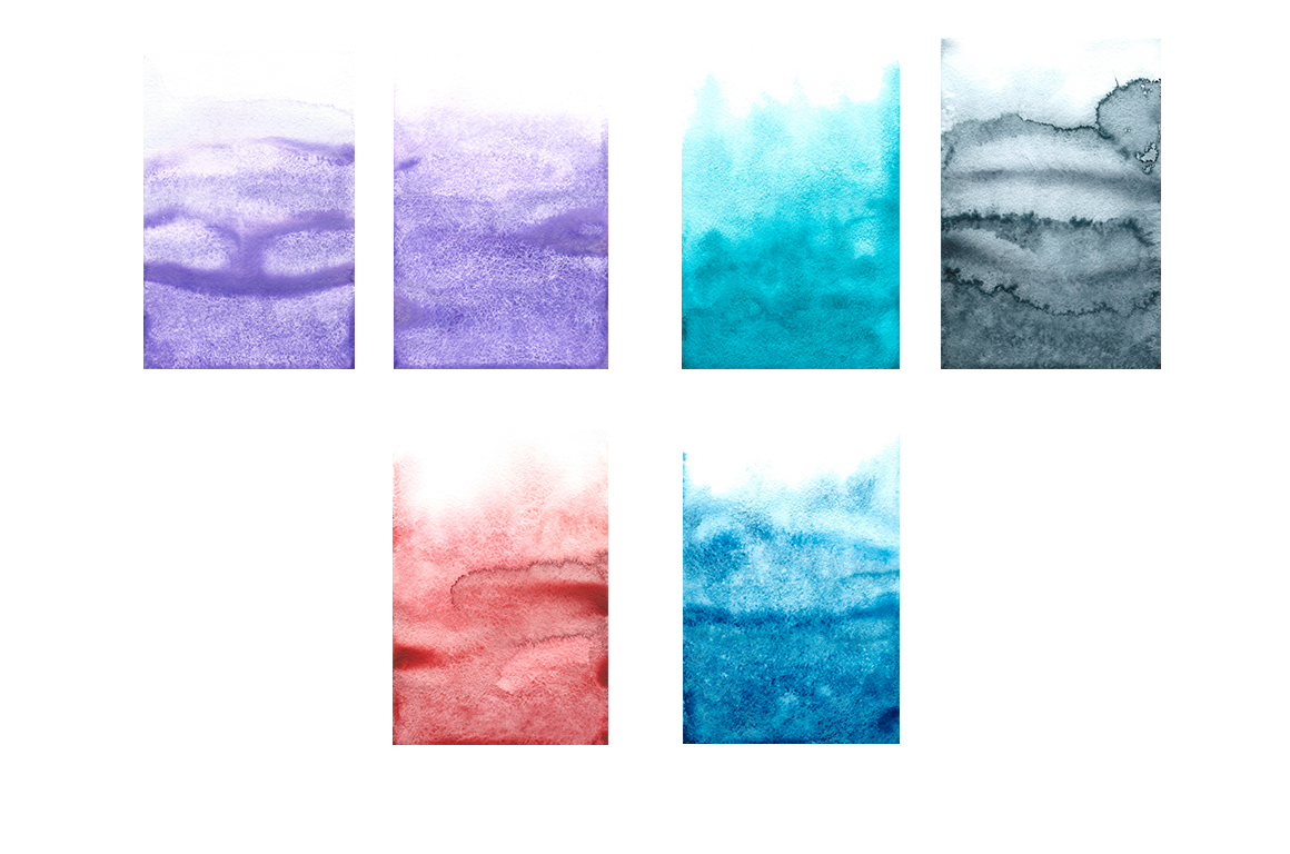 Ombre Watercolor Texture example image 9