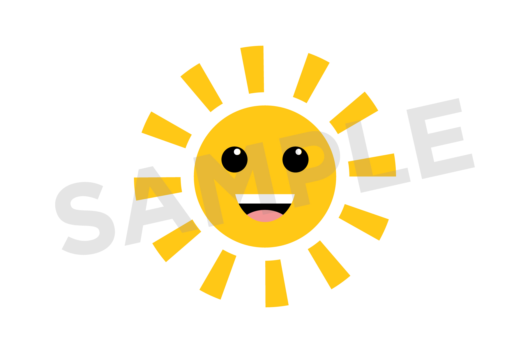 Cute Weather Clip Art Set example image 4