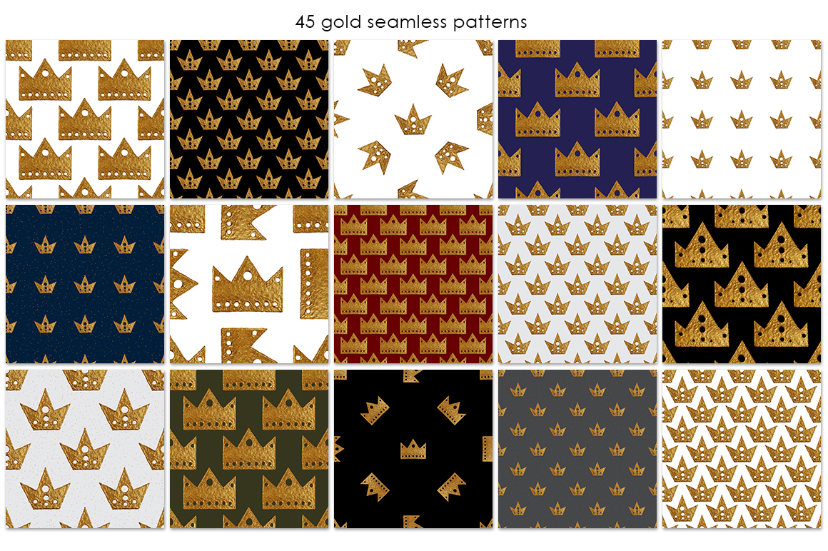 GOLD CROWN patterns example image 2