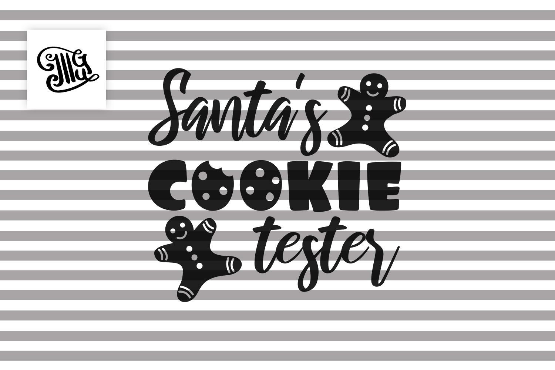 Santa's cookie tester - Christmas kids example image 2