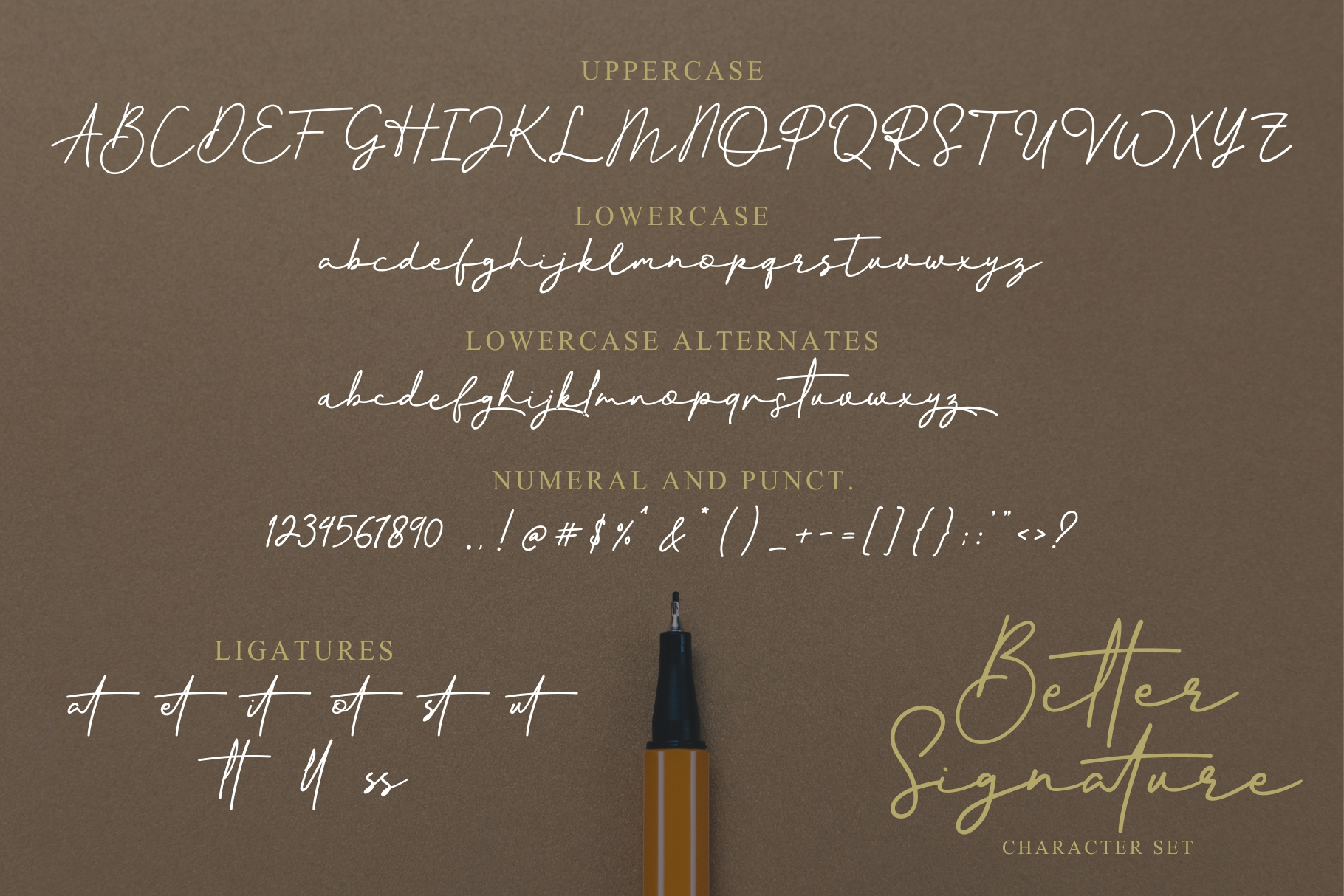 Better Signature Font example image 7