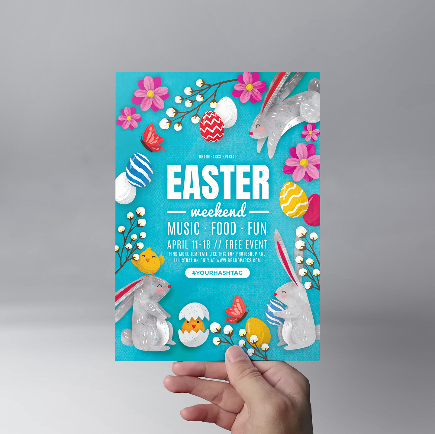 Easter Flyer Templates example image 4