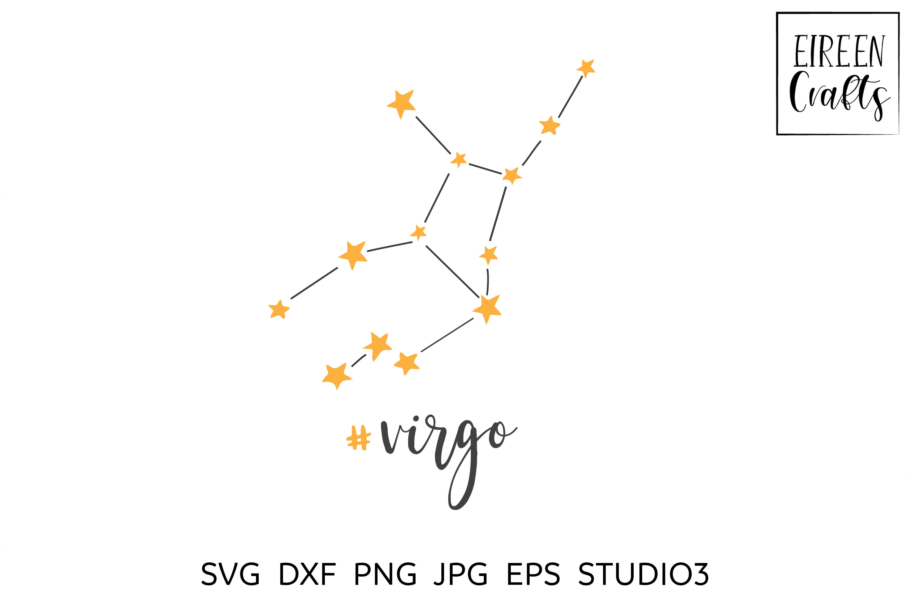 Zodiac SVG Bundle - Zodiac cut files for Cricut & Silhouette example image 7