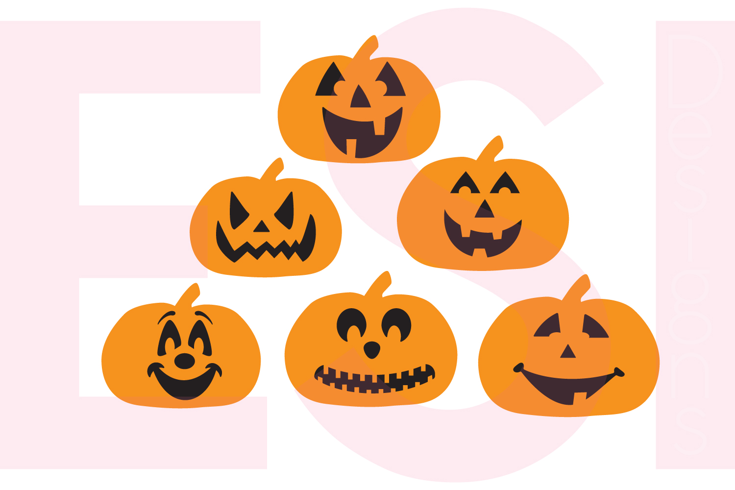 Halloween and Fall Designs Bundle -SVG DXF EPS & PNG example image 8