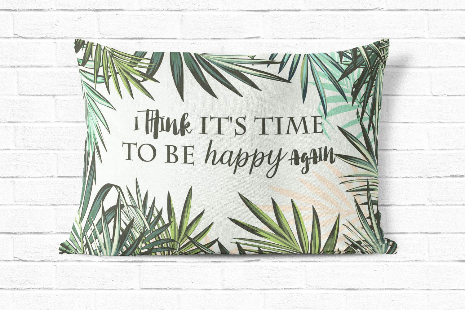 Palm leaf tropical background example image 3