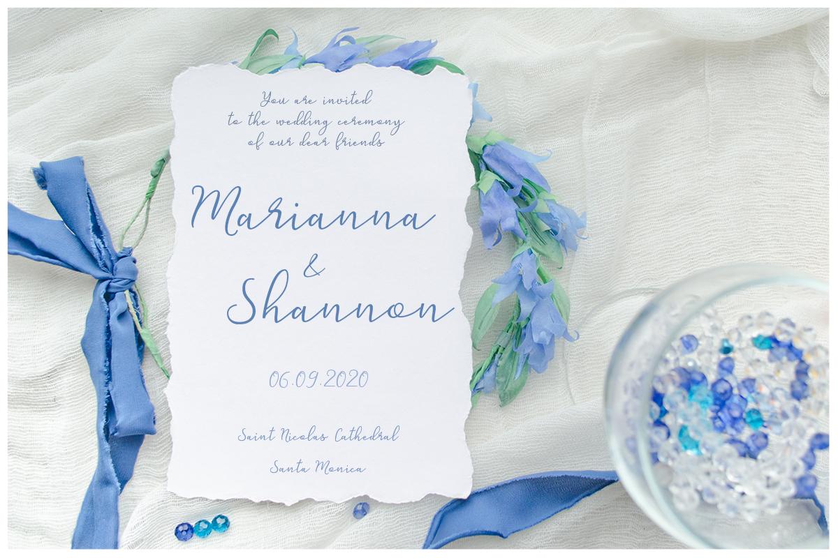 Something blue. Wedding mockups & stock photo bundle example image 3