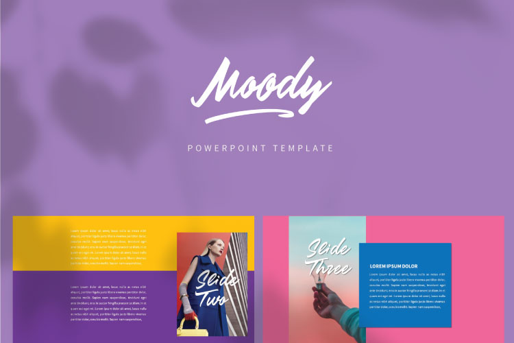 MOODY Powerpoint Template example image 9