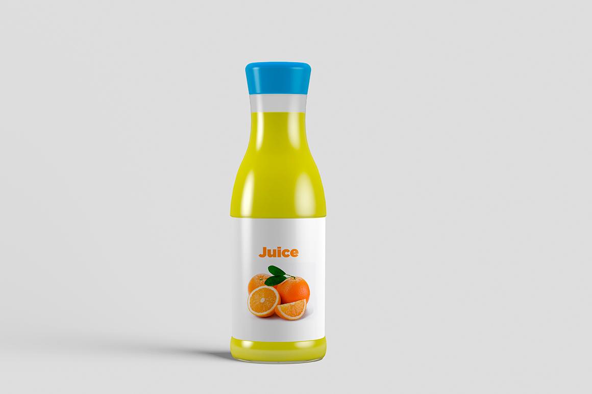 Juice Bottle Mock-Up example image 11