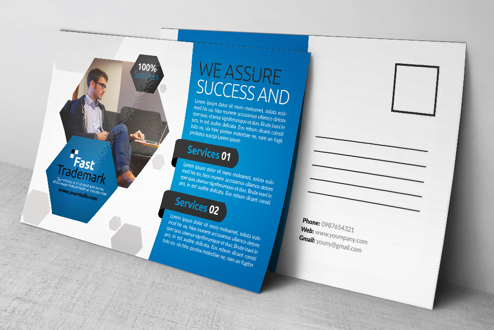 Business Postcards Psd Files example image 2