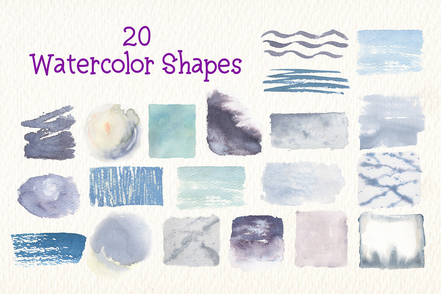 Penguins watercolor clipart example image 4