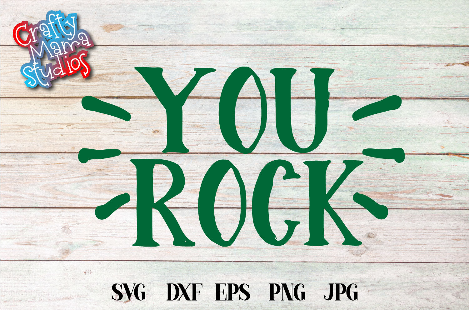 You Rock SVG, I'm Awesome Sublimation example image 2