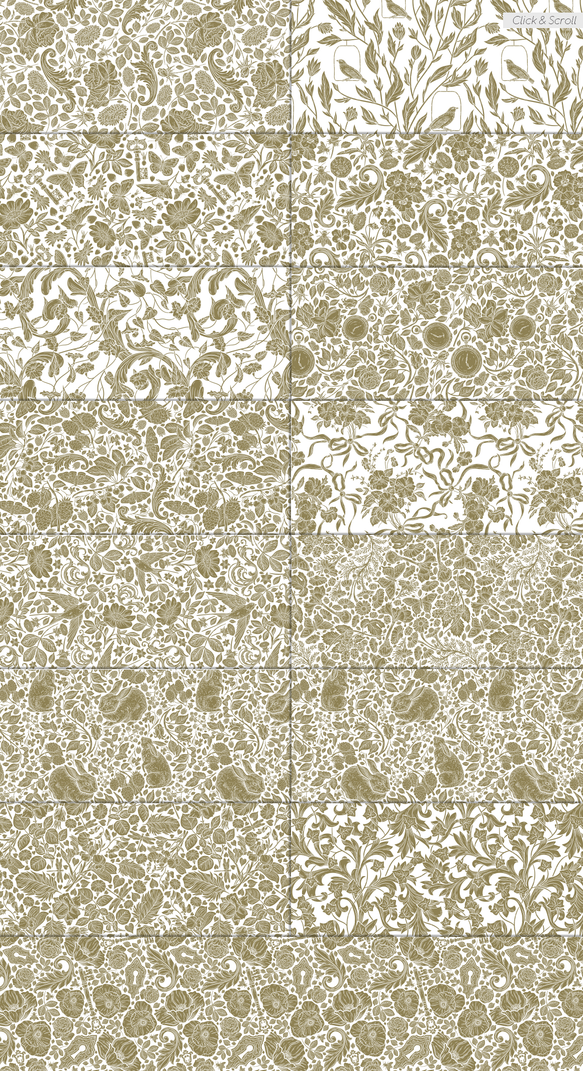 English Backyard patterns example image 5
