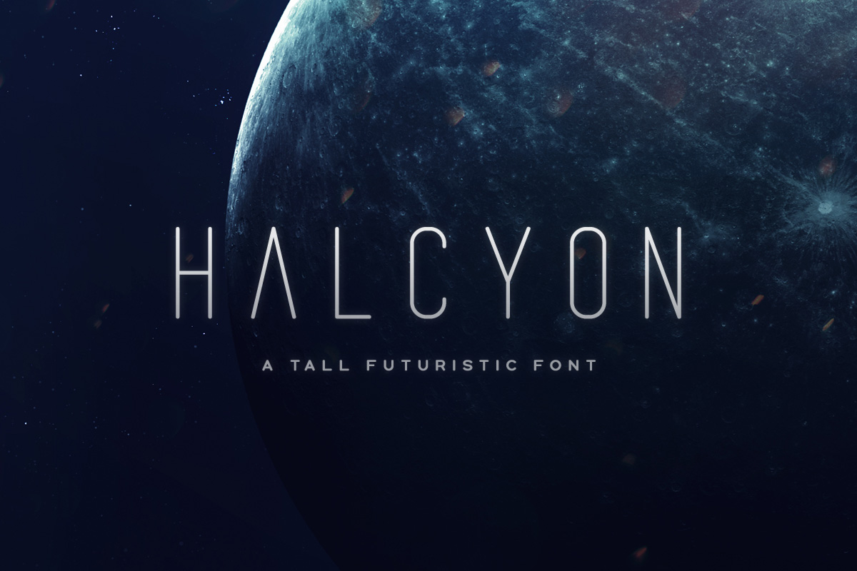 Halcyon Typeface example image 1