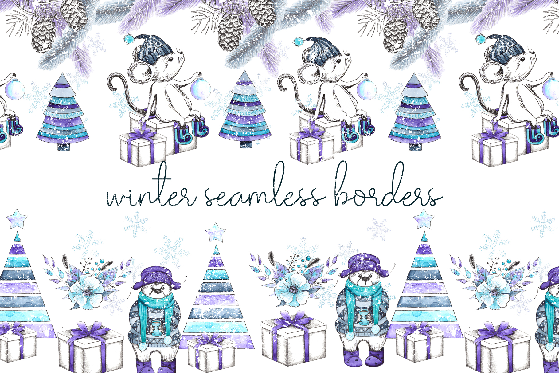 Let it snow. Winter collection example image 6