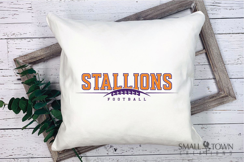 Stallions Football Team, Team, Sport, PRINT, CUT & DESIGN example image 3