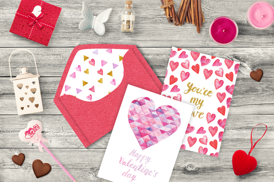 Valentine's day cards template example image 6