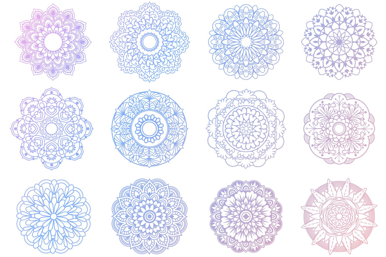 Mandala Bundle- 40 SVG cut files example image 3