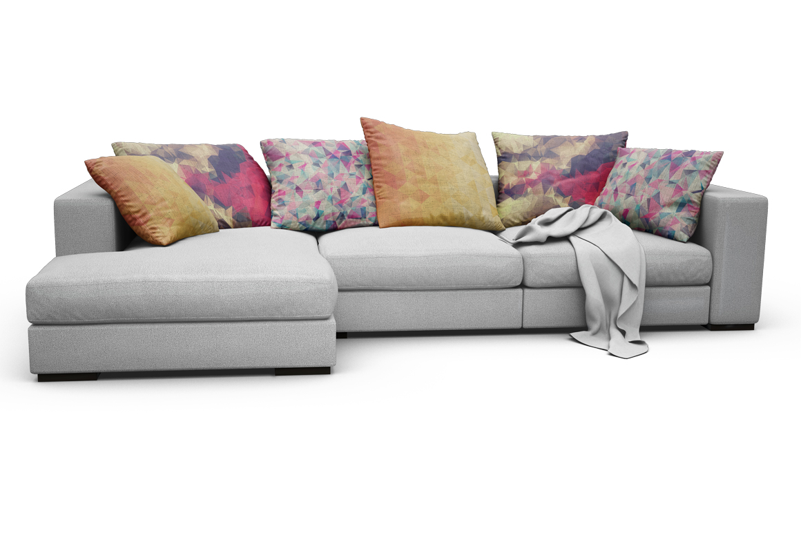 Sofa-Pillows Mockup example image 6