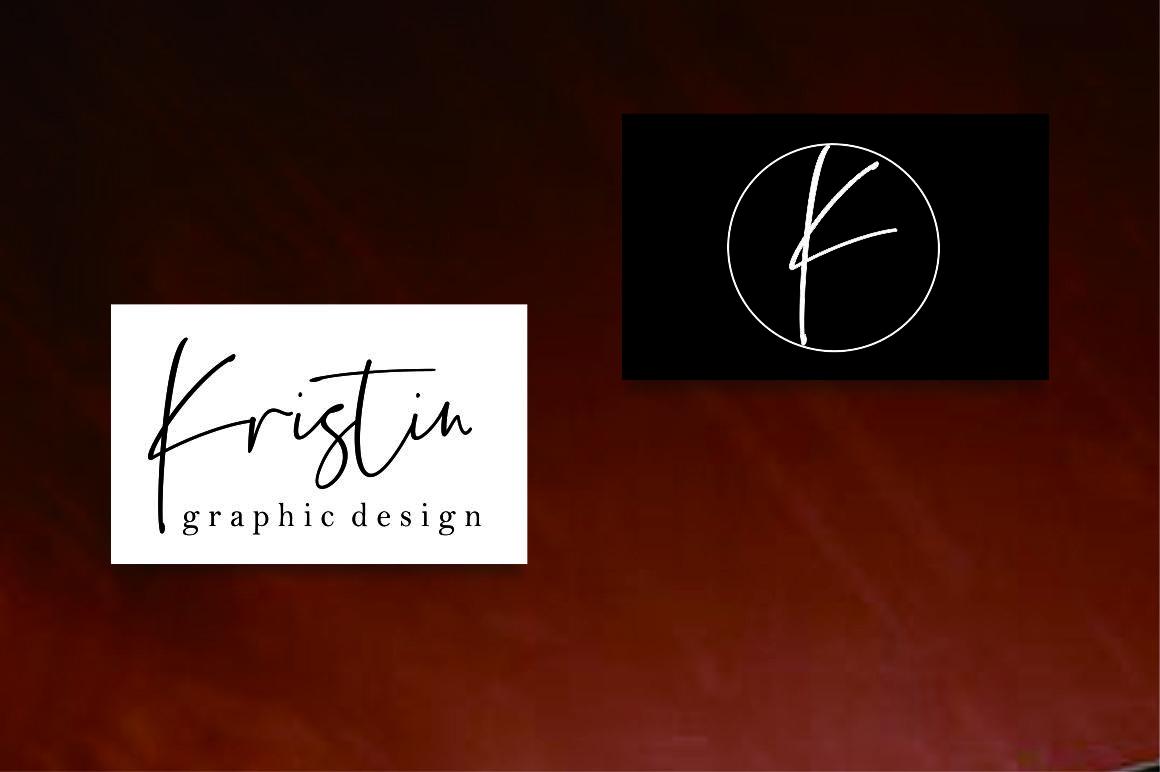 Estefin // handwritten font example image 6
