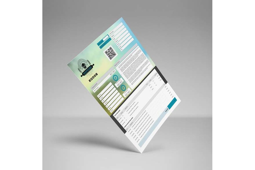 Business Invoice US Letter Template example image 3
